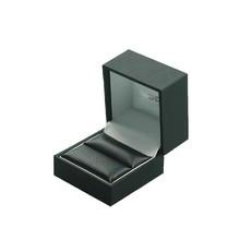 customized luxury championship leatherette ring display box wood jewerly box