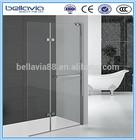 Bathroom 6mm clear glass ,Pivot folding doors shower enclosure,glass shower screen