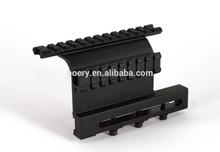 Screw style Side Rail Weaver AK Scope Mount Picatinny Saiga SKS 7.62x39 MT0049