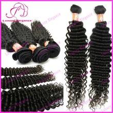 New 8 - 32 Inch Deep Wave 100% Peruvian Virgin Human Hair Factory Wholesale