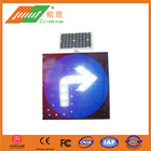 Reflective triangle solar traffic signs road markings