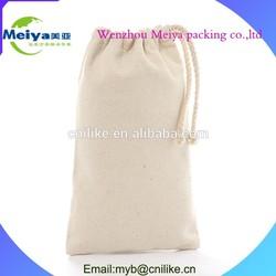 High quality canvas drawstring bag