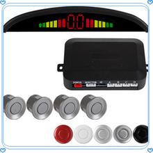 car night vision system Led display parking space sensor for 12 Volt cars 4 or lot sensor car parking sensor