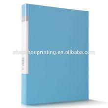 Moda barato carpeta de archivos PP / carpeta de archivos de documentos / oficina a4 informe