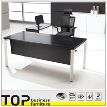 2014 Office desk with side cabinet computer table design