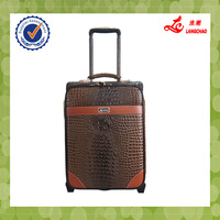 PU material overstock luggage ISO9001 certificate fashion luggage factory price luggage set sale
