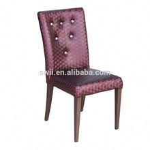 faux leather tub chair high class modern hotel chair