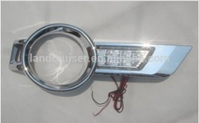 toyota hilux vigo 2013 fog lamp cover with led , HILUX Vigo fog lamp cover led chrome