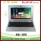 China low price 10.1 inch colorful mini laptop with android OS