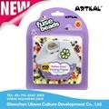 Los niños y favorito de los niños divertido 100% de garantía de calidad perler actividad cuentas abalorios artkal kits