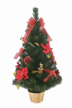 Holiday living christmas trees decorated tabletop christmas tree