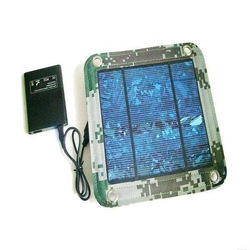Mini Foldable Solar Panel/Charger Bag, 5.5V, 3W Power, Polycrystalline Silicone
