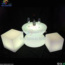 LED Illuminated Lite Furniture / Light lounge Coffee Table led