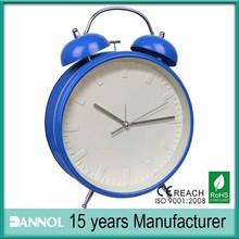 big size 8 inch modern vogue unique mechanical table clock for home decoration