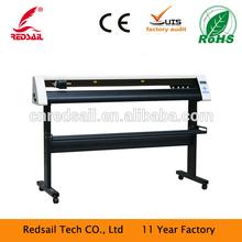 Redsail cutting plotter rs1360c 1200mm for car window/wall sticker cutter