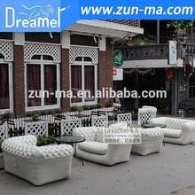 Wholesale italian furniture lounge suite waterproof inflatable sofa