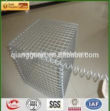 3''x3'' hot dipped galvanized welded gabion basket/welded gabion box/gabion wall construction, low price