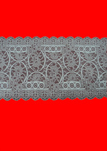 Two tones polyamid elastic lace