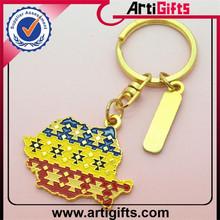 Wholesale custom broken heart keychain
