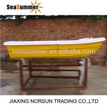 2014 wholesale cheaper price Fiberglass rowing boat for sale