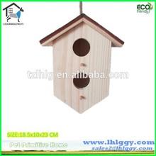Professional mill supply popular handmade birdhouse / birdnest / birdcage
