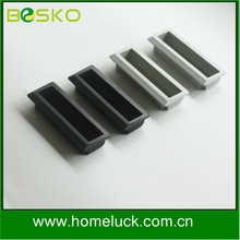 Shenzhen factory custom OEM plastic recessed handle flush recessed drawer pulls