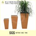 Três tamanhos de plástico clássica flor vaso lg10-1036