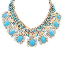 wholesale band crohet necklace,new choker statement necklace
