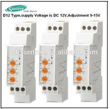 Voltage Control Sequencer Time Delay Relays DC