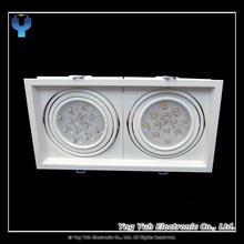 LED Recessed Rectangular Spotlight / Downlight AR111 24W