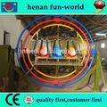 Adultos juegos de carnaval electrónica giroscopio 2.4.6seats para en la fábrica