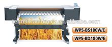 Double head dx5 head eco solvent printer 1800mm WP5-BD180W/E