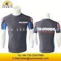 Sublimación running t shirt, Superior en ejecución, Modificado para requisitos particulares running wear / sexy desgaste / ropa de diseño