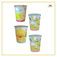 Various Delicate Hot Water Paper Cups Themed Animal OEM