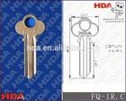 FQ-1R.C blank door key with nickel plated