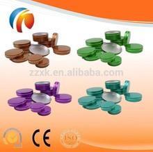 Aluminum tin, Nail Art/Make up/Travel/Cream/Cosmetic Jar, Pot ,Tin