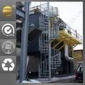 grandes escaleras en espiral de la industria de la escalera para proyecto al aire libre