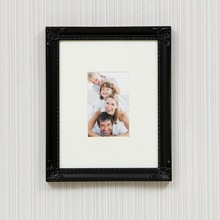 Handmade wood girl photo frame