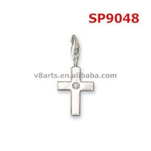 Alibaba website cross charms for crafts horse shoe charms wholesale