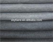 100%Polyester Solid interloop fleece for garment