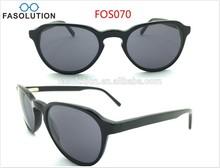 2015 Popular Design Acetate Sunglasses with Polaroid lens
