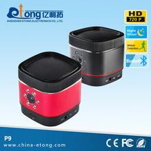 Прослушивания музыки от смартфон 1.0MP 720 P HD 0.01 люкс маслянистый питания мини видеокамеры с sim карты ( п9 )