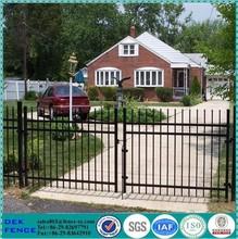 Stockade Galvanized Single Swing Iron Yard Gates Fence Gate
