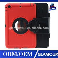 360 degree rotate for ipad case for ipad mini 2 flip cover