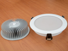 New product of GuangDoang 9W downlight recessed led lighting 2years warranty CE and RoHS