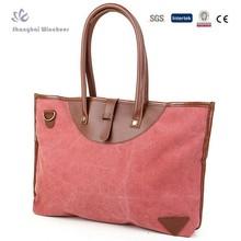 Women's canvas simple handbag