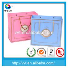 Printing Pink Paper Bag With Handle