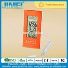 2015 new design digital LCD weather forecast desk alarm clock H101AB
