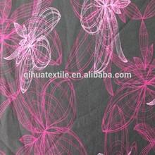 polar fleece fabric bonded polyester printed spandex