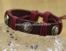 Professional YIWU Jewelry Factory 2015 Fashion Bracelet, Personalized Bracelet Leather Wrist Band